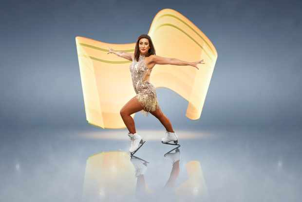 Saira Khan, Dancing on Ice (ITV)