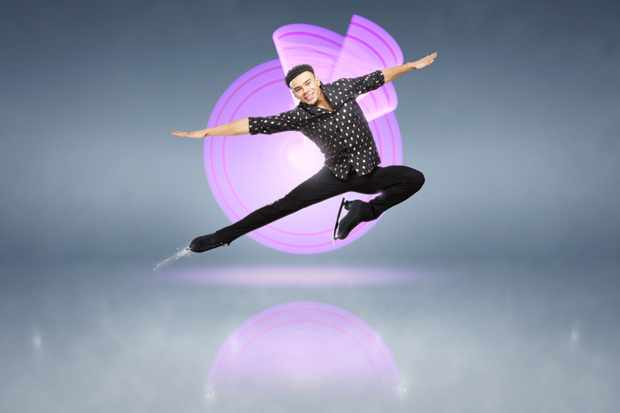 Wes Nelson, Dancing on Ice (ITV)