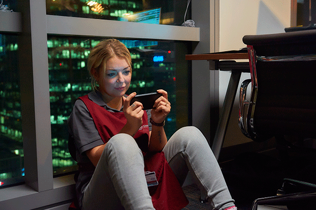 Sheridan Smith in Cleaning Up, ITV Pictures
