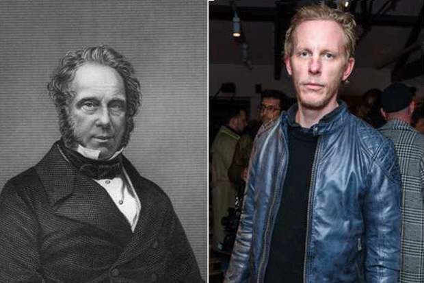 Laurence Fox, Lord Palmerston, Victoria (Getty)