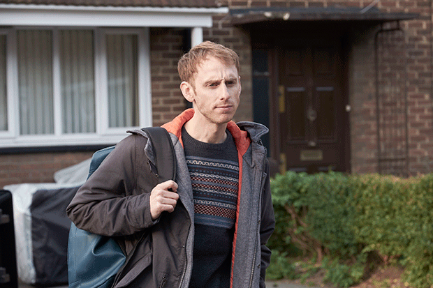 Robert Emms in Cleaning Up, ITV Pictures