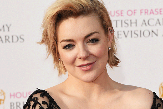 Sheridan Smith arrives at the Bafta Television Awards 2016, Getty