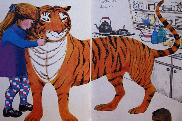 The Tiger Who Came to Tea, Getty