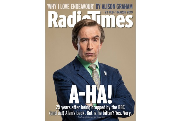 Radio Times Alan Partridge cover