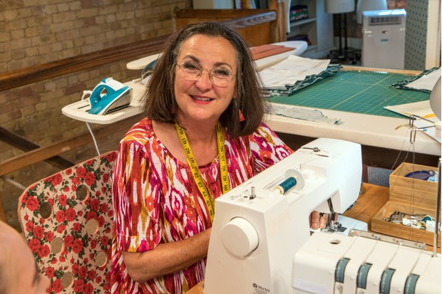 Great British Sewing Bee, Janet (BBC)
