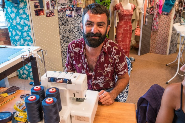 Riccardo, The Great British Sewing Bee (BBC)