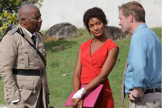 AUDE LEGASTELOIS as Madeleine in Death in Paradise