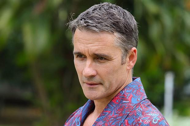 Alastair MacKenzie plays Ewan Boyd in Death in Paradise