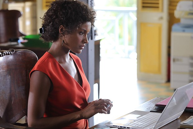 Aude Legastelois plays Madeline in Death in Paradise
