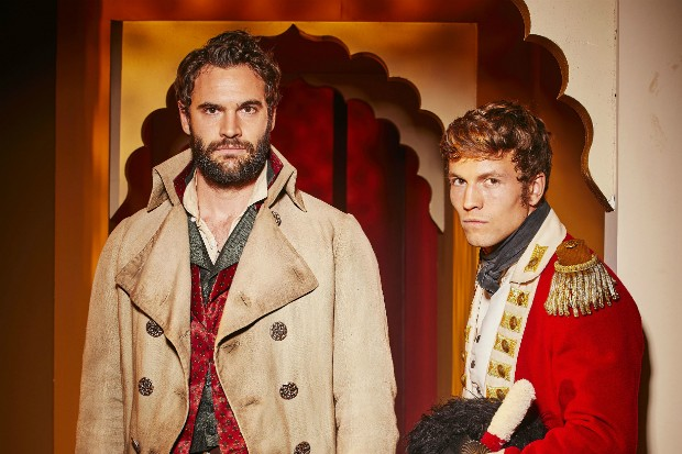 Tom Bateman and Leo Suter in Beecham House
