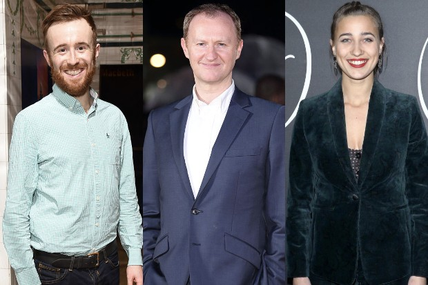 John Heffernan, Mark Gatiss and Lujza Richter