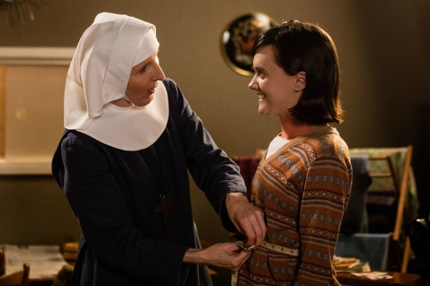 Bessie Coates plays cancer patient Julie Schroeder in Call the Midwife