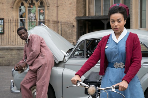 Call the Midwife Lucille and Cyril