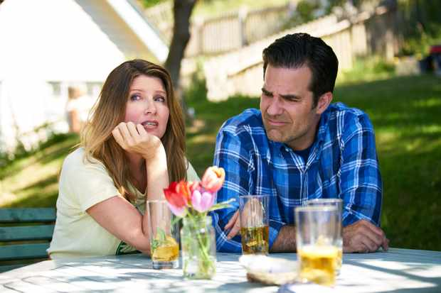 Rob (Rob Delaney) and Sharon (Sharon Horgan) in Catastrophe