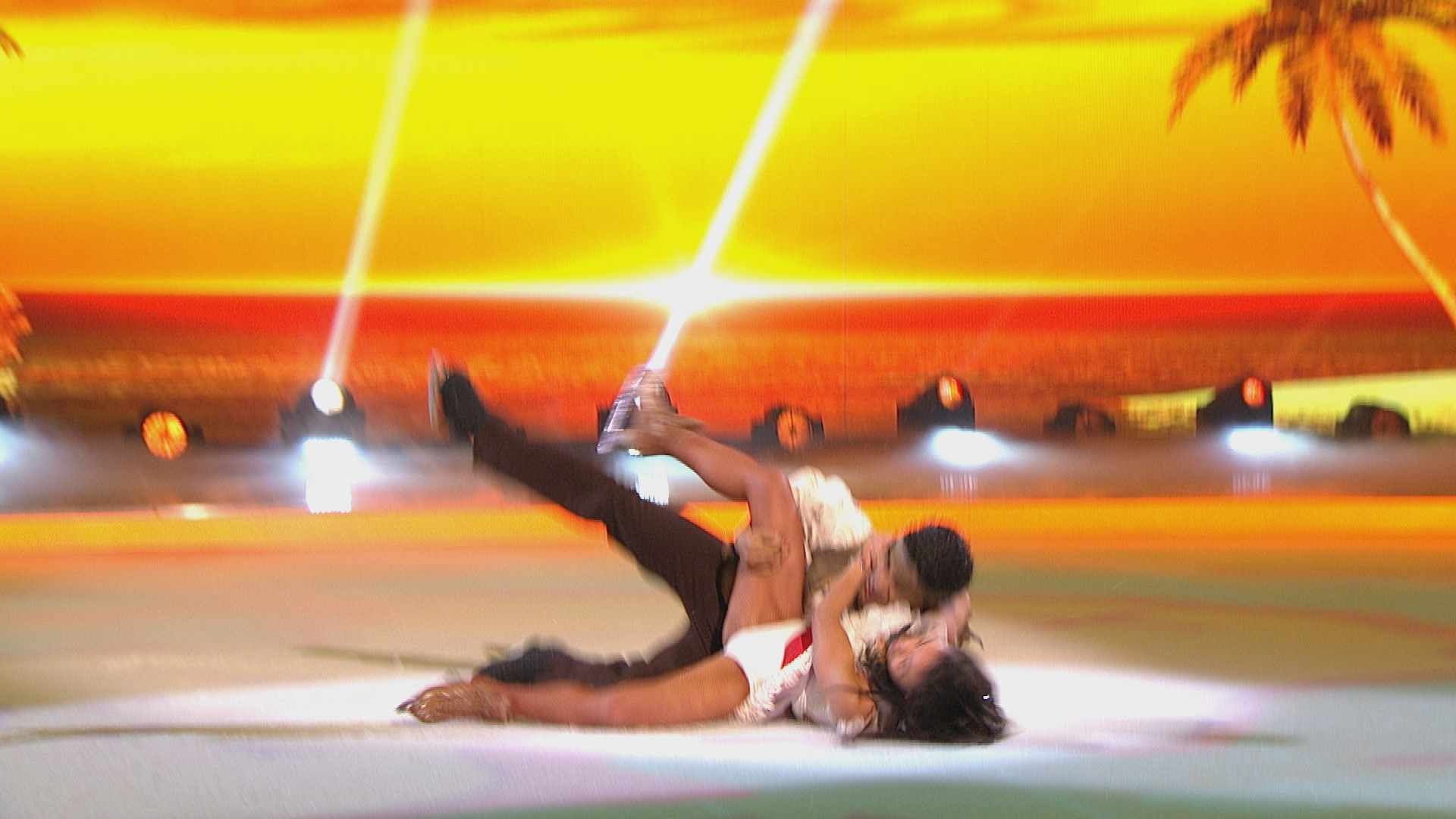 Wes Nelson Dancing on Ice fall