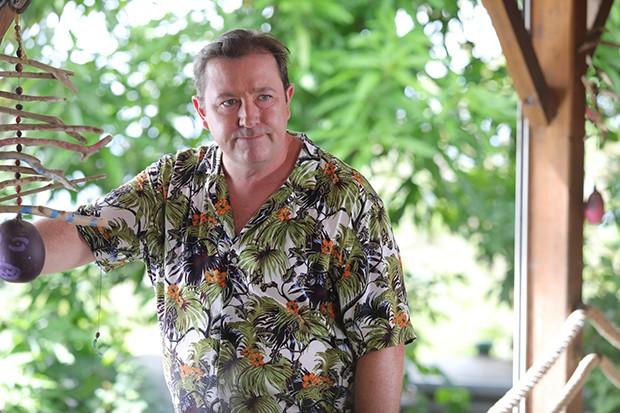 Daniel Ryan plays Gerald Baynes in Death in Paradise