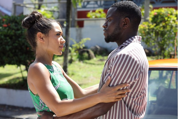 Death in Paradise Florence and Patrice
