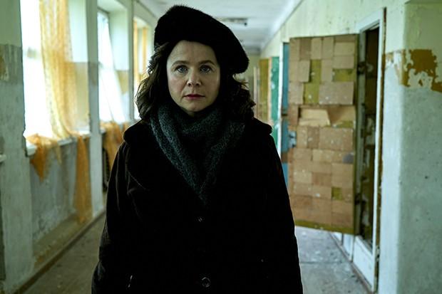 Emily Watson portrays Ulana Khomyuk in Chernobyl
