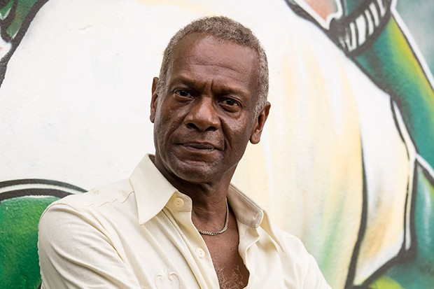 Errol Harewood plays Bunny in Death in Paradise