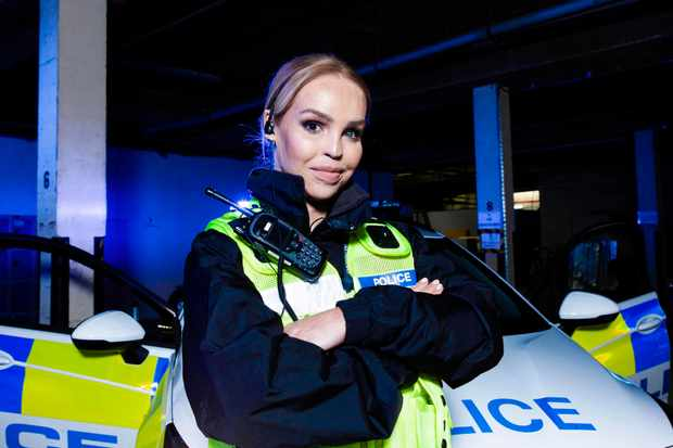 Famous and Fighting Crime, Katie Piper (Channel 4)
