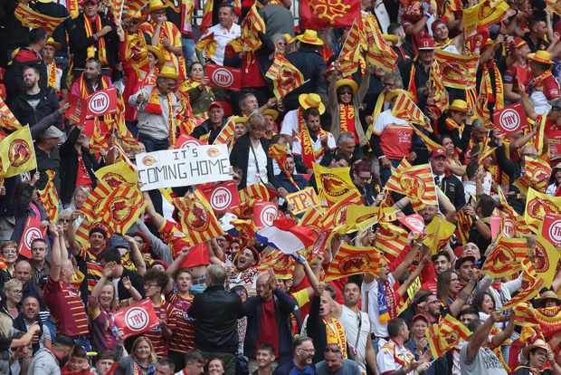 Catalans Dragons v Warrington Wolves