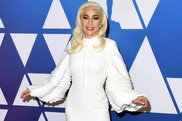 Lady Gaga Oscars luncheon