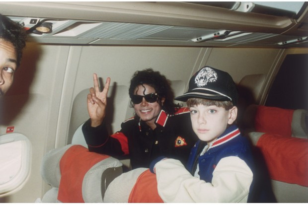 Michael Jackson and James Safechuck (Getty)
