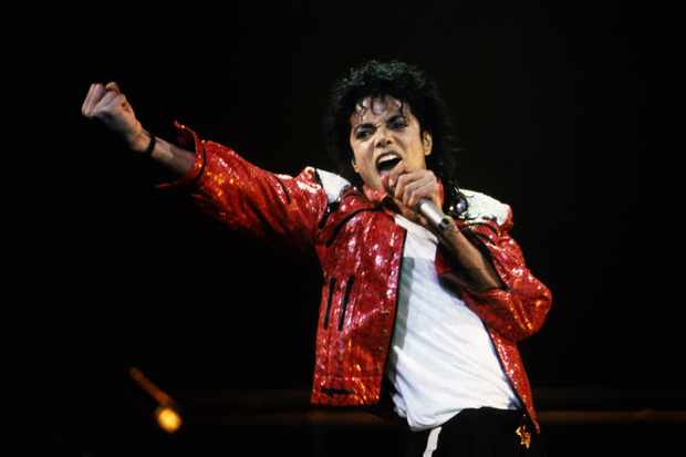 Michael Jackson performing circa 1986 (Getty)