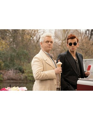 Michael Sheen and David Tennant star in Good Omens (Amazon Prime Video)