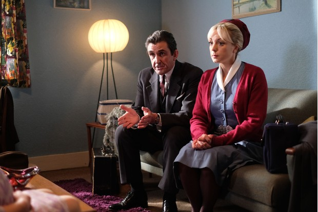 Helen George and Dr Turner Call the Midwife