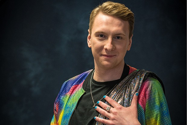 Great British Sewing Bee presenter Joe Lycett is a perfect