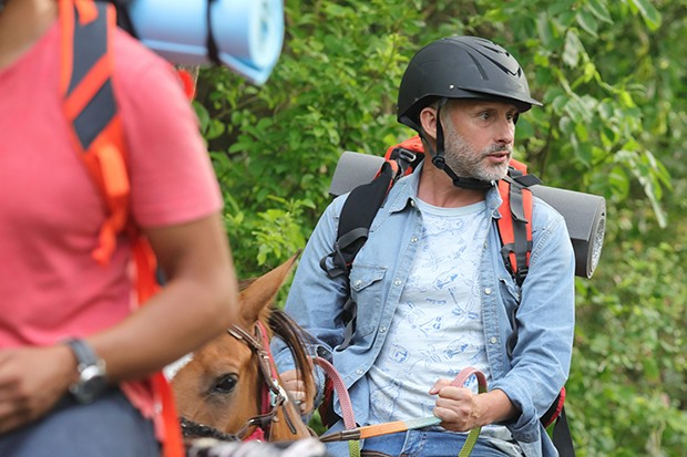 Karl Theobald plays David Molyneux in Death in Paradise