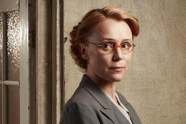 Keeley Hawes plays Priscilla Garrick in Traitors