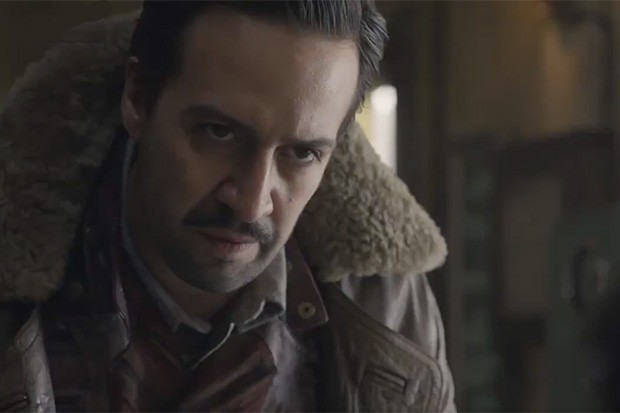 Lin-Manuel Miranda as Lee Scoresby