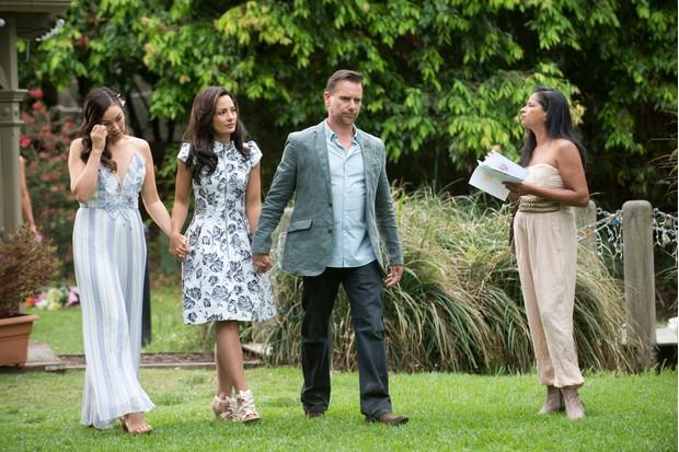 Neighbours, Jade Mitchell, Vanessa Villante, Lucas Fitzgerald