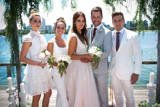 Neighbours, Chloe Brennan, Bea Nilsson, Elly Conway, Mark Brennan, Aaron Brennan
