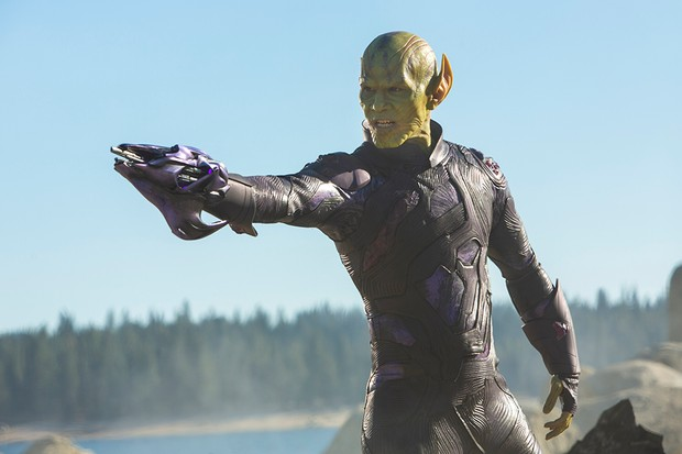 Ben Mendelsohn as Talos in Captain Marvel (Marvel)