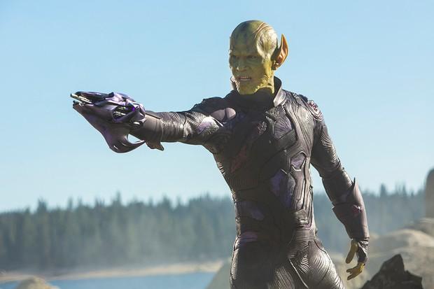 Ben Mendelsohn as Talos in Captain Marvel (Marvel)