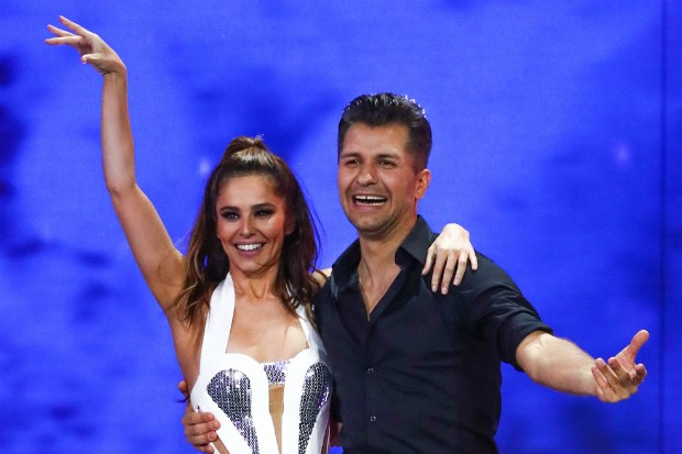 Pasha Kovalev and Cheryl on The Greatest Dancer