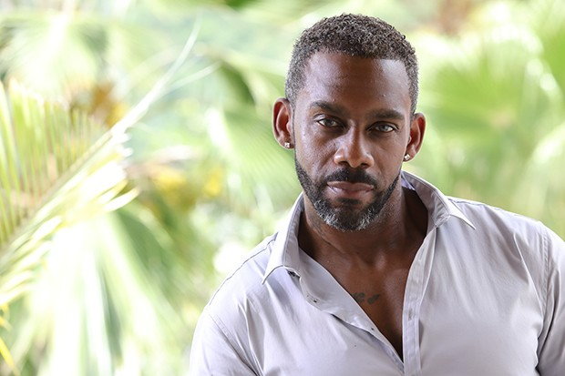 Richard Blackwood plays Carlton in Death in Paradise