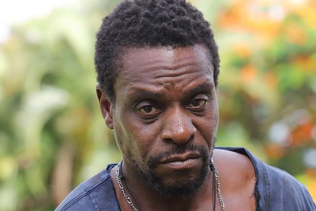 Richard Pepple plays Junior in Death in Paradise