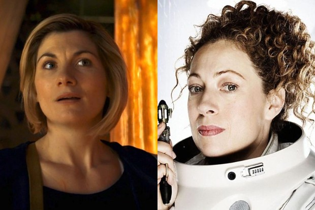 Jodie Whittaker and Alex Kingston in Doctor Who (BBC)
