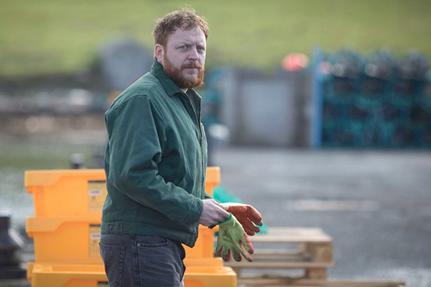 Ryan Fletcher plays Calum Dunwoody in Shetland