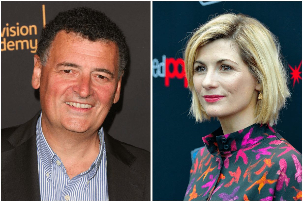 Steven Moffat, Jodie Whittaker (Getty)