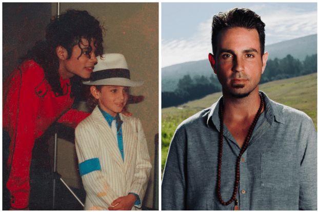 Michael Jackson and Wade Robson, then and now (C4)