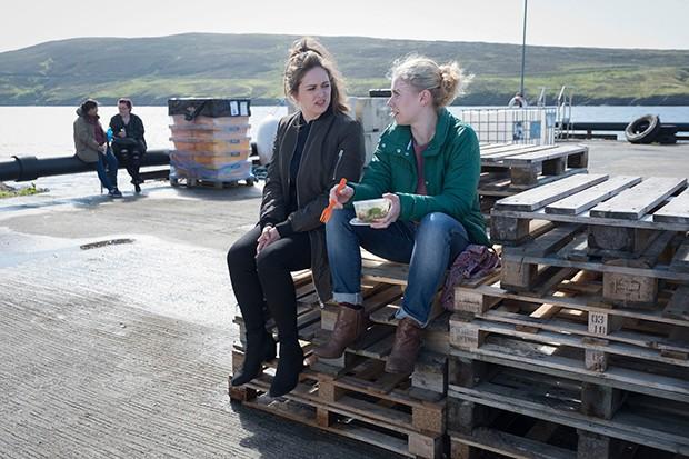Shetland - fish factory