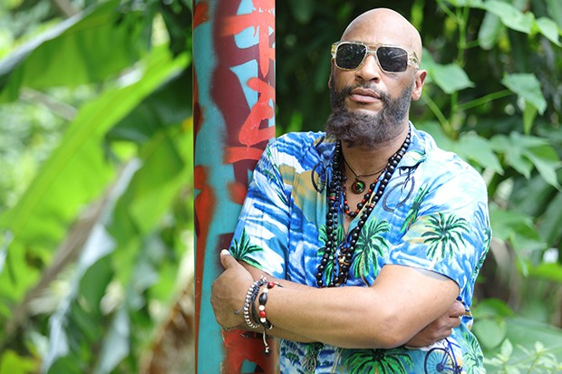 Terence Maynard plays Dezzie in Death in Paradise