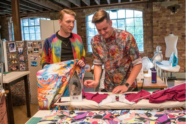 Joe Lycett on The Great British Sewing Bee