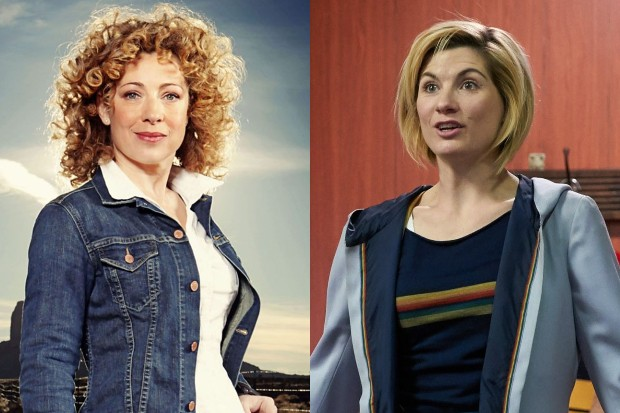 Alex Kingston and Jodie Whittaker in Doctor Who (BBC)