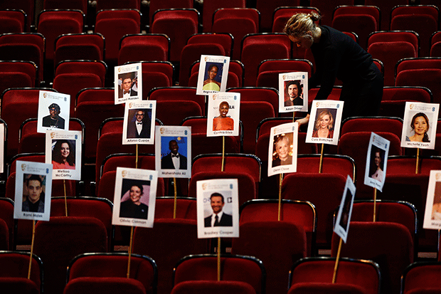 Bafta Film Awards 2018 attendees, Getty